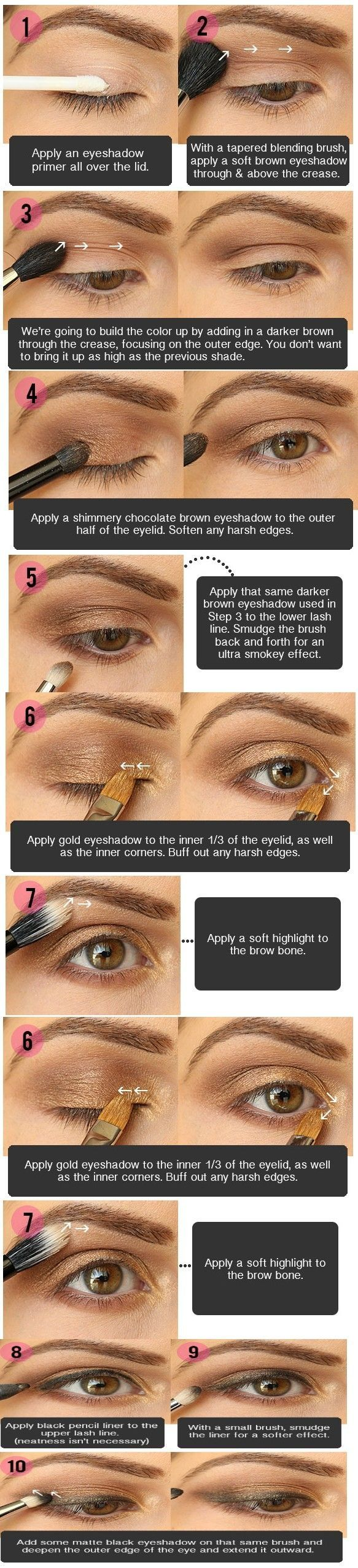 10 Tips Smokey Eye Makeup For Brown Eyes by debmcphail