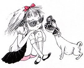 HA! Reminds me of my daughters chihuahua's Liz & Roxy...Diva's!