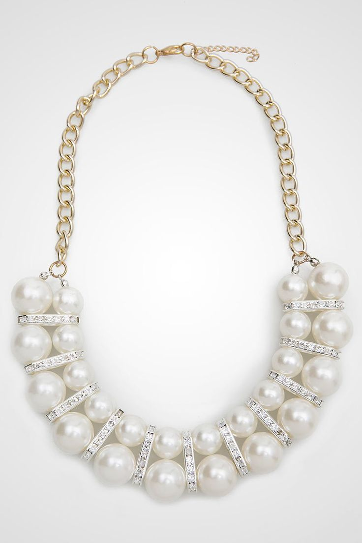 The perfect necklace for both your semi formal or formal occasions, it's classic and it timeless necklace. By Cherise Paxton. http://www.zocko.com/z/JFEpu