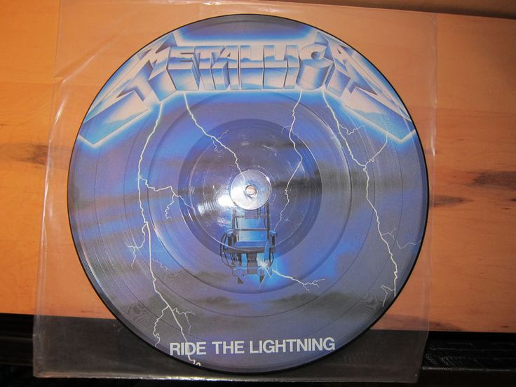 Metallica – Ride The Lightning Picture Disc #ThrashSpeedMetal