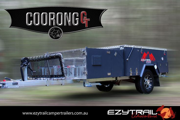 Extreme Off Road Hard Floor Camping Camper Trailer 4X4 4WD Caravan Front Fold