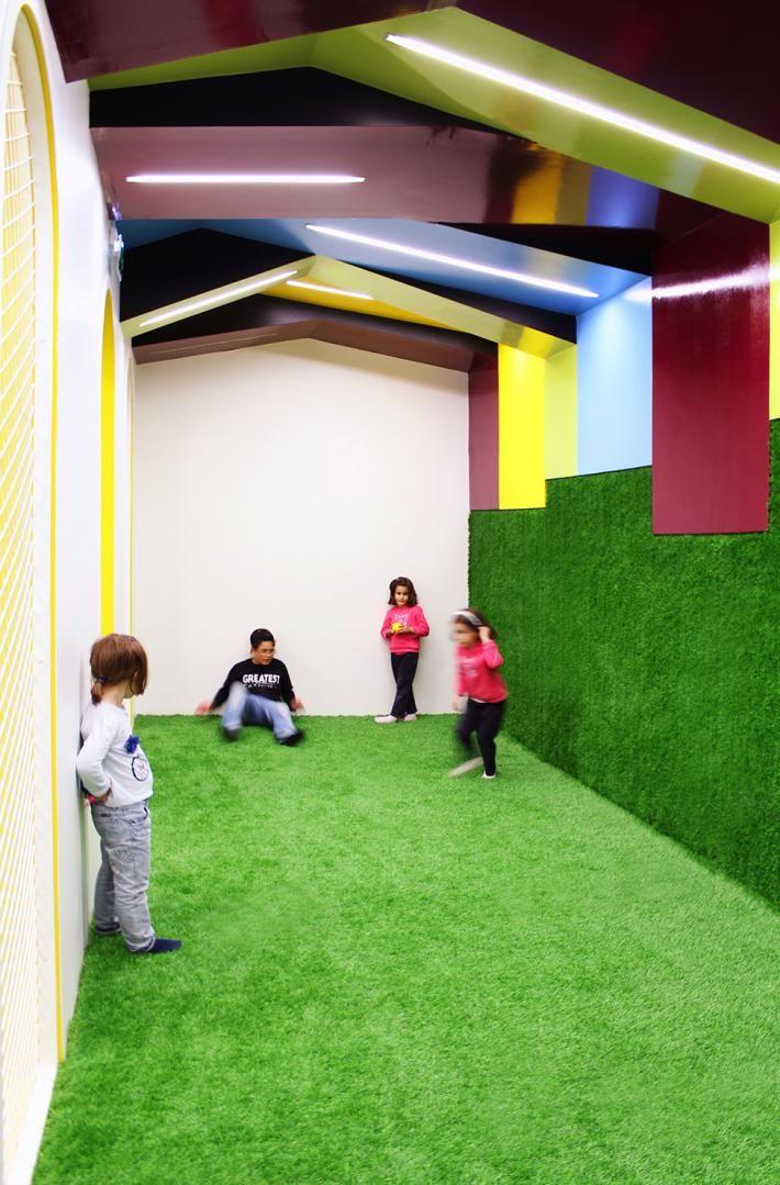 Детский центр при фитнес-клубе в Португалии