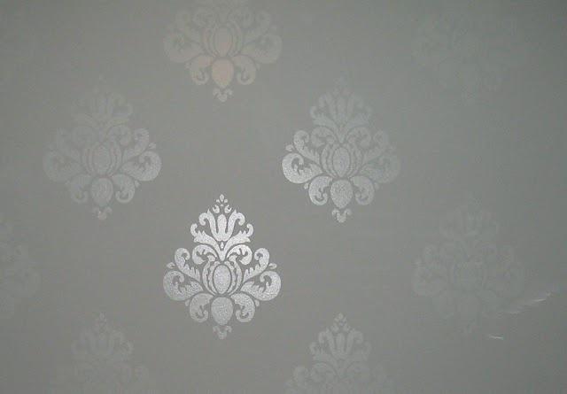 High Gloss Stencil Over Flat Paint House Pinterest
