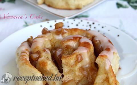 Fahéjas, almás csiga recept fotóval