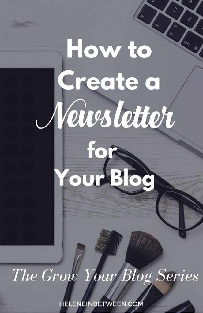 Email marketing is one of the best ways to make money with your blog. But how do you get started? Here's how to create a newsletter for you blog. #newsletter