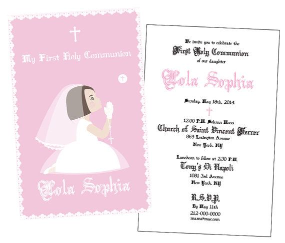 17 best FIRST COMMUNION images on Pinterest First communion, First - invitation templates holy communion