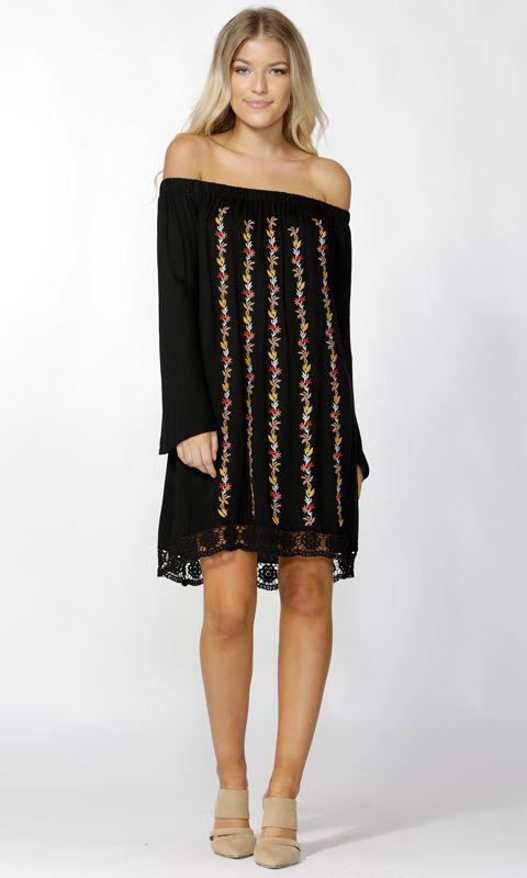 Sass - Mishaila Embroidered Dress B