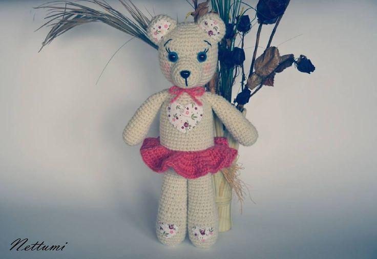 """0 kedvelés, 1 hozzászólás – Anett (@nettumi) Instagram-hozzászólása: """"#amigurumi #crochet #bear #amigurumibear #amigurumitoy #handmade #horgolt #maci #horgoltmaci"""""""
