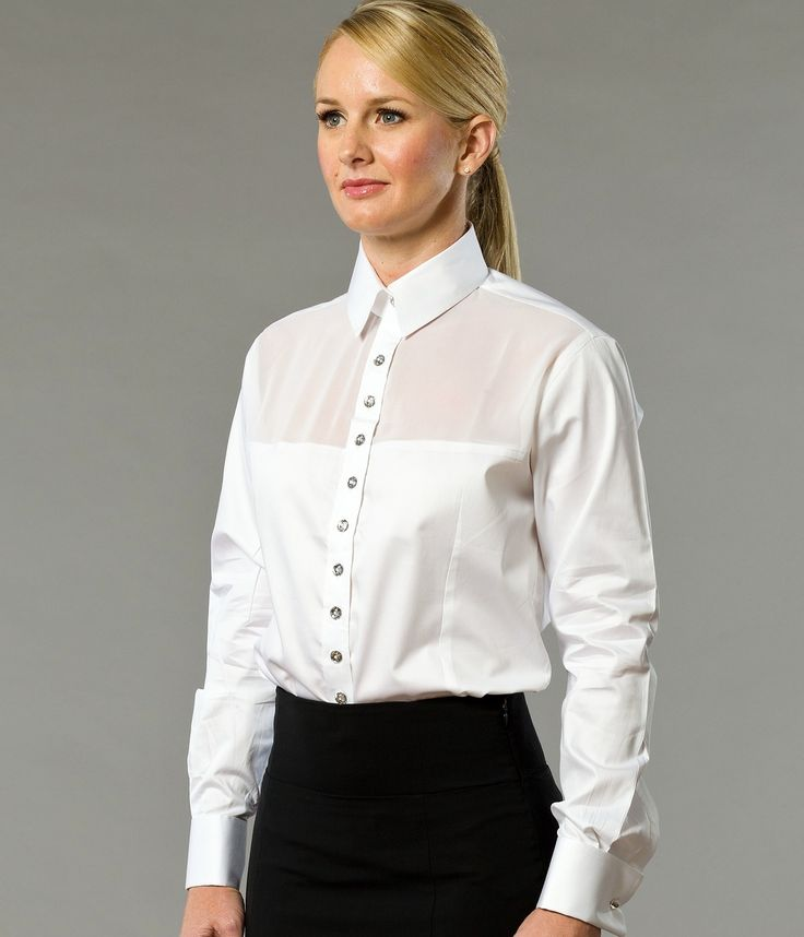 A Day in Paris Women's Business Shirt | Designed by The Shirt muse