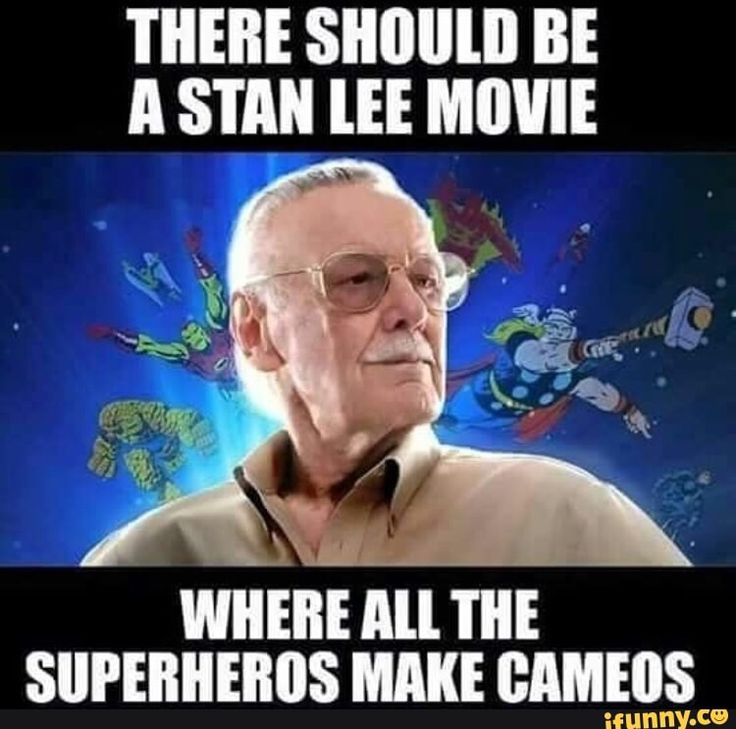 #marvel, #avengers, #stanlee Like a biopic where all the actors who've played superheroes make cameos. Tom Holland could play young Stan Lee