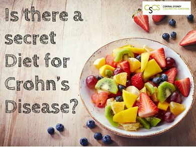 Is there a secret Diet for #CrohnsDisease? #WellnessWednesday