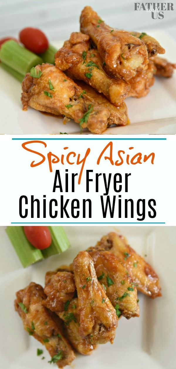Check Out This Easy Recipe For Spicy Asian Air Fryer Chicken Wings