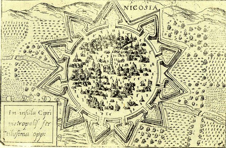 Old Nicosia walls