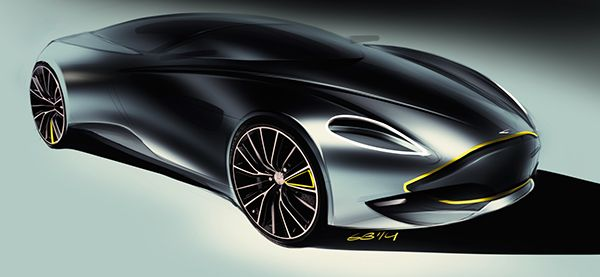 Car design sketches #3 on Behance
