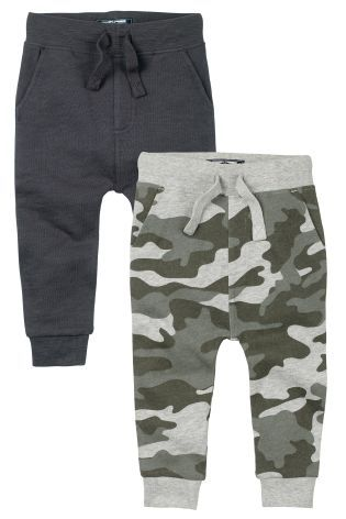 Buy Camouflage Skinny Joggers Two Pack (3mths-6yrs) from the Next UK online shop