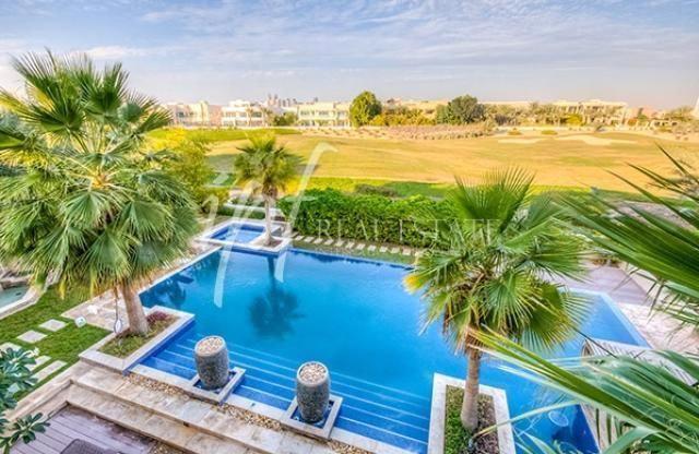 Dubizzle Dubai | Villa/House for Sale: Amazing view of the Golf