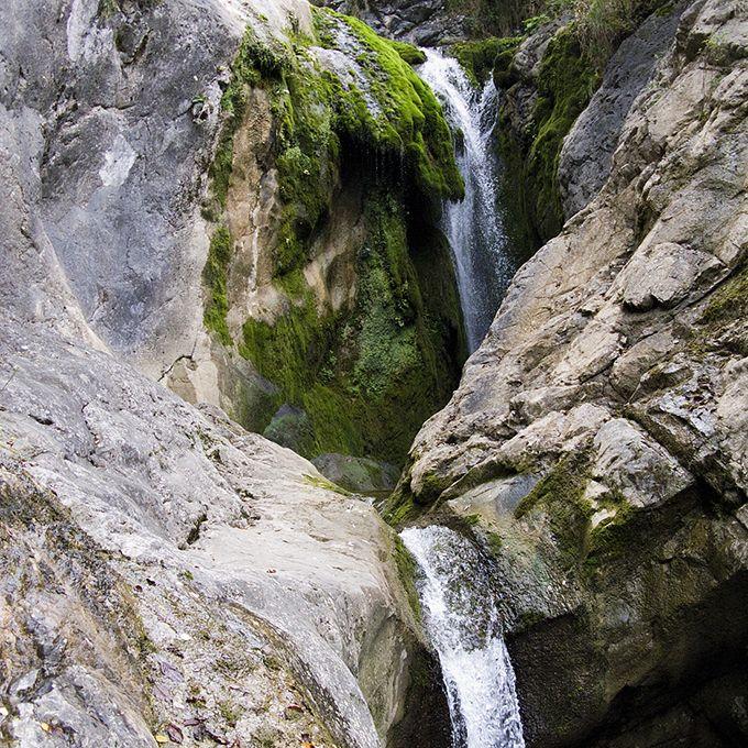 Cascate del torrente Orvenco, Artegna // foto di Ulderica Da Pozzo, Archivio Ecomuseo delle Acque, Gemona del Friuli