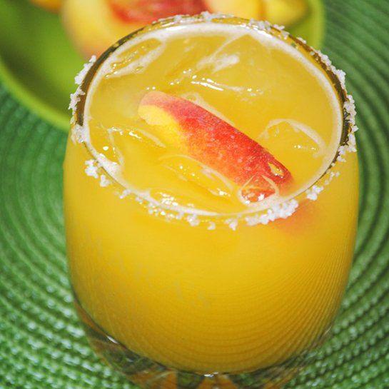 Delectable Margarita Recipes for Cinco de Mayo: Peach Margaria
