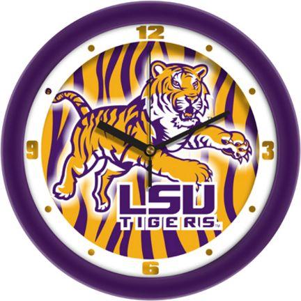 Louisiana State (LSU) Tigers 12 inch Dimension Wall Clock