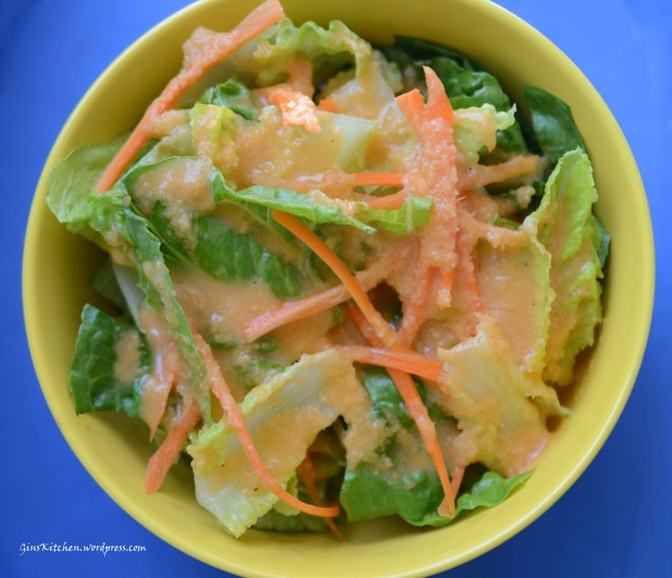 Homemade how to: Japanese Ginger Salad dressing.