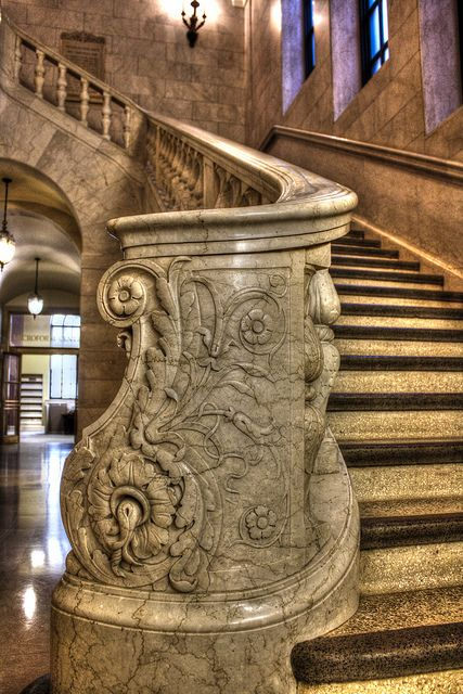 The Cleveland Public Library, 1925 Walker & Weeks, architects