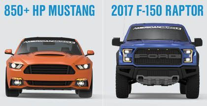 Nice Ford 2017: Win a Ford Raptor & 850 HP Mustang! Car24 - World Bayers Check more at http://car24.top/2017/2017/02/21/ford-2017-win-a-ford-raptor-850-hp-mustang-car24-world-bayers/
