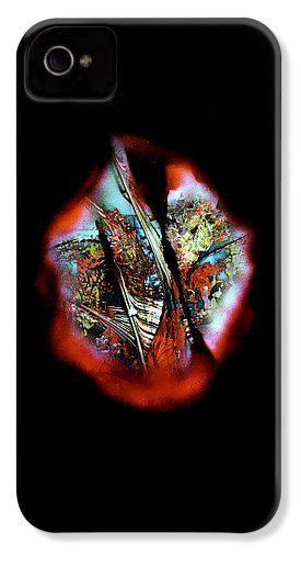 Fade Away IPhone 4 / 4s Case Printed with Fine Art spray painting image Fade Away by Nandor Molnar (When you visit the Shop, change the orientation, background color and image size as you wish)