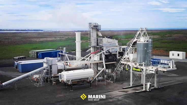 XPRESS 2500 (up to 200 t/h) #marini #fayatgroup #xpress #asphalt #asphaltplant #roadequipment
