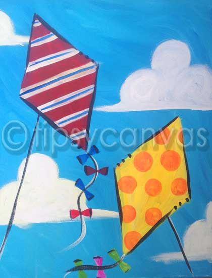 Color Art Ideas For Preschoolers : Best 20 kids canvas art ideas on pinterest tissue paper