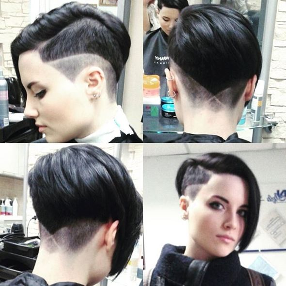 Best Images About Undercut On Pinterest Something New - Undercut hairstyle ruby rose