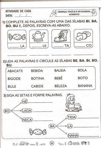 EDUCAÇAO: 2º ANO: PORTUGUES