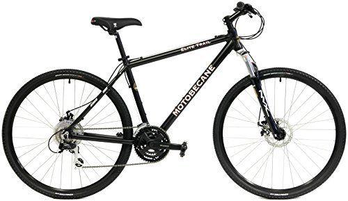 "Motobecane Front Suspension Hybrid Adventure 29er mountain bike 24 speed disc Bike Matt black 19"" frame - http://www.bicyclestoredirect.com/motobecane-front-suspension-hybrid-adventure-29er-mountain-bike-24-speed-disc-bike-matt-black-19-frame/"