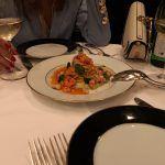 H πρώτη βραδιά έκλεισε μ'ένα εξαιρετικό δείπνο, δε μπορούσε να ήταν κάτι άλλο εκτός από Spaghetti με γαρίδες. Viva Italia!