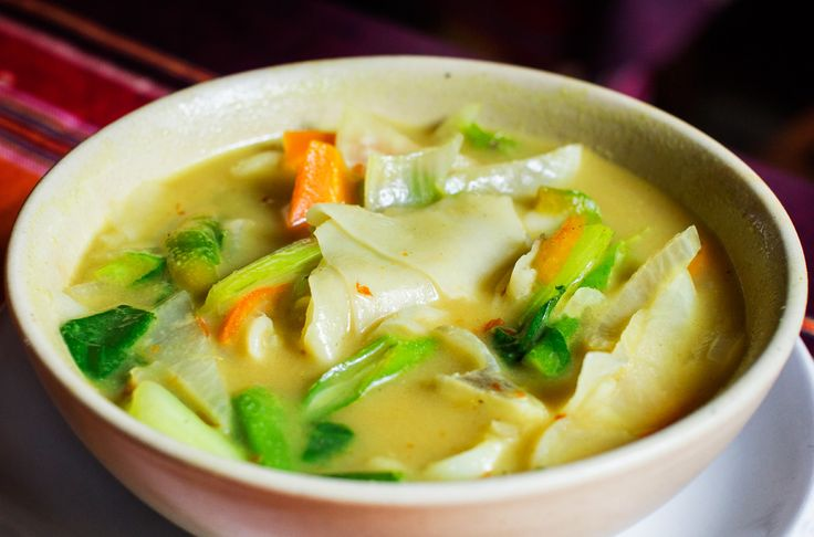 Authentic thupka- tibetian recipe to warm up your winters.
