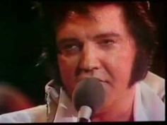 """Elvis Presley 6 Weeks Before His Death (One of his final concerts)  At the end of this video Elvis sings """"My Way""""..it's both amazing and heartbreaking - such a fantastic voice!"""