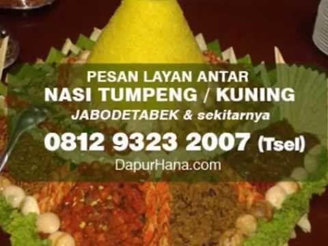 081293232007 (Tsel)   Nasi Tumpeng Kuning, Cara Menghias Tumpeng, Pesan Tumpeng Jakarta - YouTube