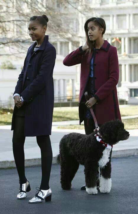 Sasha & Malia