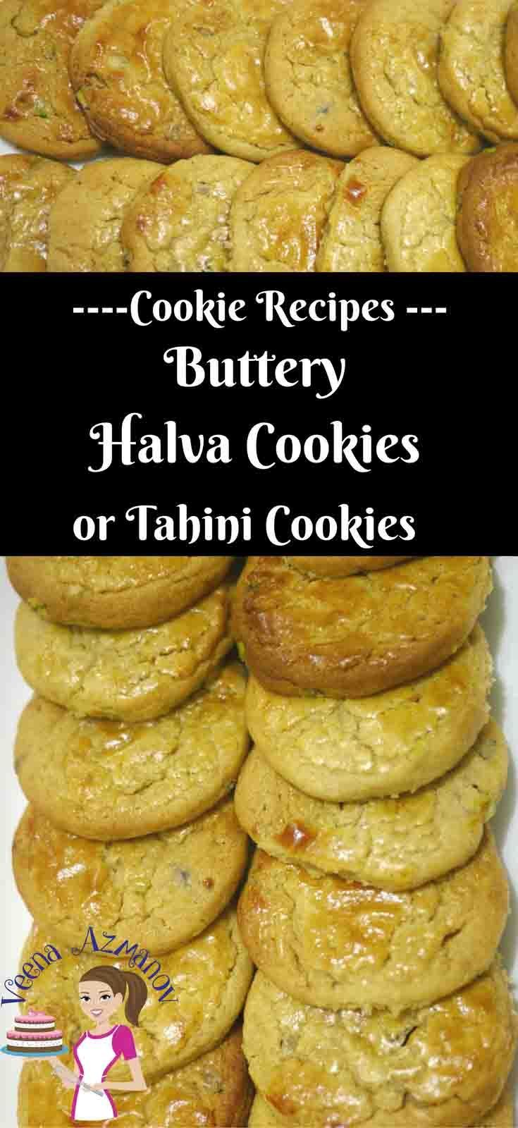 These halva cookies are a real treat and melt in the mouth. Unlike traditional halva cookies these are based on my butter cookie recipe and use grated pistachio halva then baked until golden and delicious