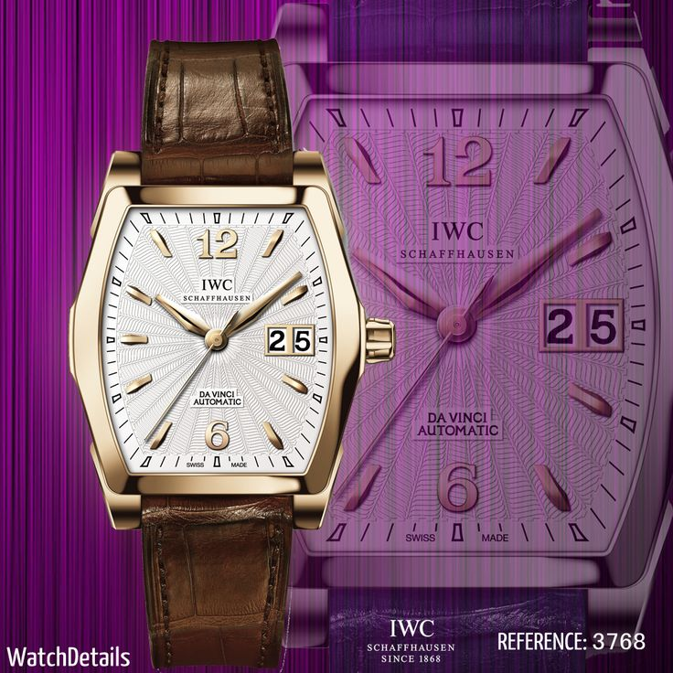 Read more Watches Elegant Da Vinci Automatic Reference 4523 http://www.watchdetails.com/2015/02/watches-elegant-da-vinci-automatic.html