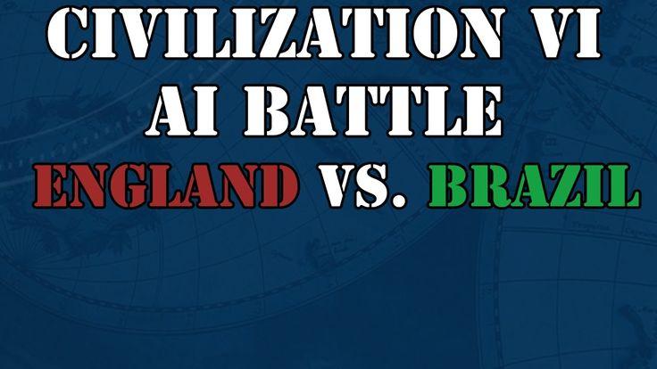 England vs. Brazil in a 1v1 AI Battle #CivilizationBeyondEarth #gaming #Civilization #games #world #steam #SidMeier #RTS