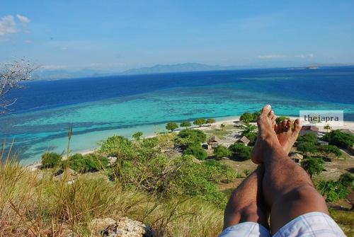 Enjoy my legs after trekking to the top :) #Island #Beautiful #Beach #Paradise