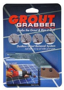 Grout Grabber Grout Removal Tool Kit