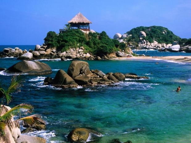 Tayrona national park, near Sta Marta