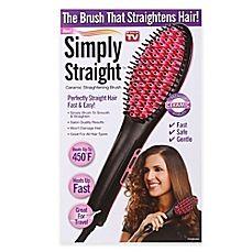 image of Simply Straight™ Ceramic Straightening Brush