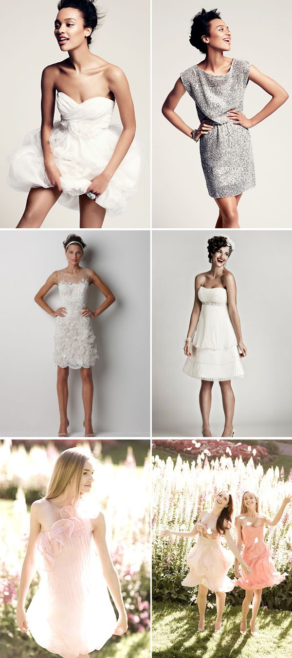 Praise Wedding » Wedding Inspiration and Planning » 71 Chic Short Wedding Dresses