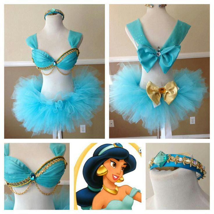 Princess Jasmine inspired EL outfit. - love for a princess themed halloween costume!