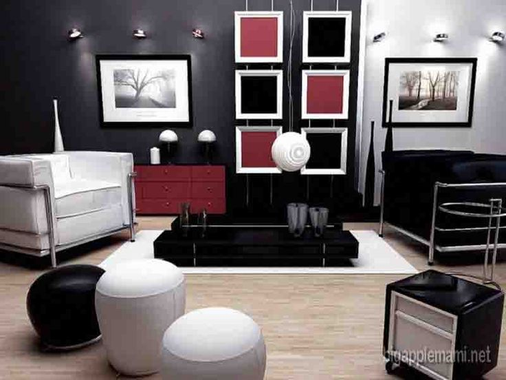 cool Black Accessories For Living Room