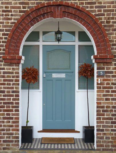 London Doors, Front Door, Twenties Door. For the nickel door furniture, letter plate click below: https://www.priorsrec.co.uk/original-nickel-letter-plate-/p-3-33-73-361