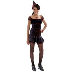 Rockin' Roses Witch Teen Costume #witchcostumes #Halloween coupons discounts savings clearance specials blowouts New for 2013 http://www.planetgoldilocks.com/halloween/witchcostumes.html  #witchcostumes