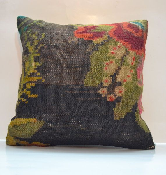 Hey, I found this really awesome Etsy listing at https://www.etsy.com/listing/179998033/rustic-home-decor-kilim-pillow-case-fall